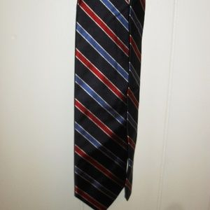 Jos. A. Bank Blue And Red Stripe Neck Tie